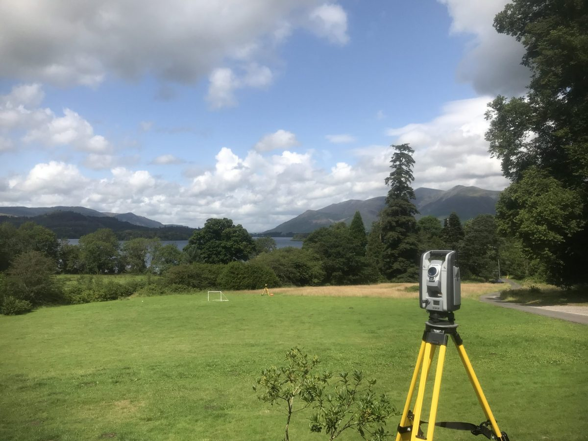 Land Survey near Keswick